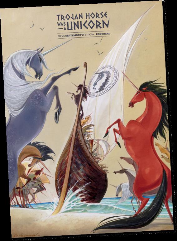 THU 2021 poster by Carlos Grangel