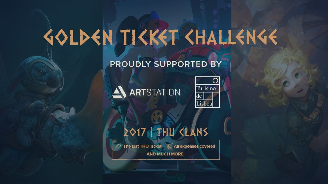 Thu golden ticket challenge 2017