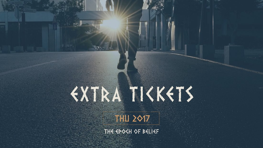 Extra tickets for thu 2017